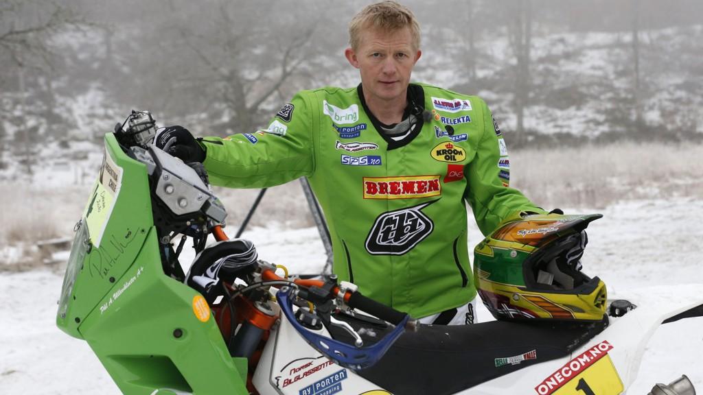Pål Anders Ullevålseter og konkurrentene i ørkenrallyet Africa Race fikk aldri målt krefter mandag.
