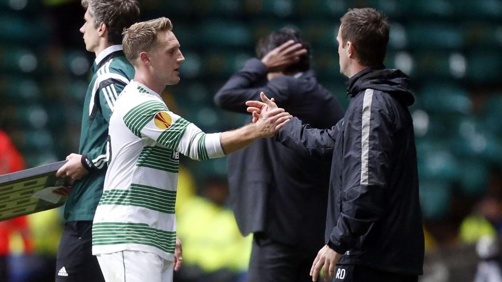 PASSER IKKE INN? Celtic-manager Ronny Deila har ikke fått det beste ut av Kris Commons denne sesongen.