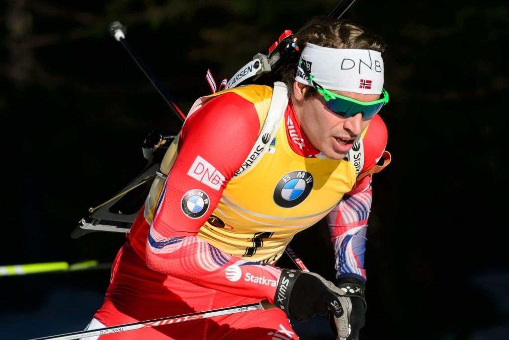 PRIORITERER VERDENSCUPEN: Skiskytter Emil Hegle Svendsen.