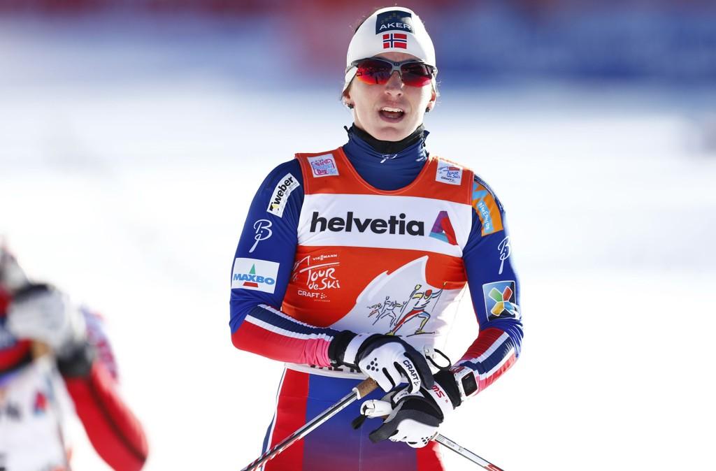 I FORM: Marit Bjørgen vant sprintprologen.