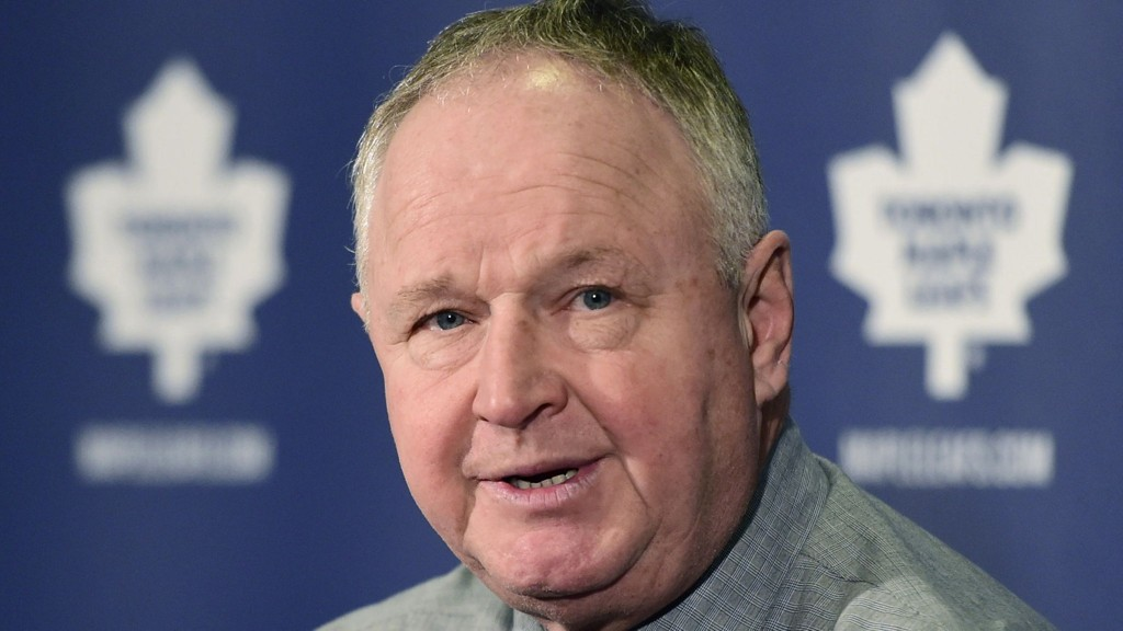 Sparket: Toronto Maple Leafs-trener Randy Carlyle