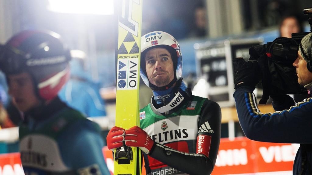 Anders Bardal var ikke fornøyd med hoppukeavslutningen.