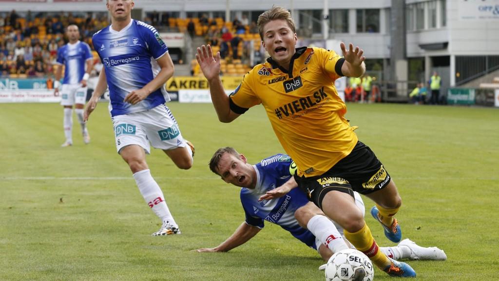 ØNSKET: Marius Lundemo kan være på vei bort fra Lillestrøm.