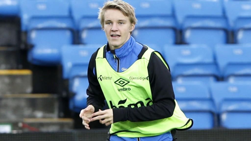 TING SKJER: Ifølge VG har Martin Ødegaard (16) landet i Madrid og skal være nær en overgang til den spanske storklubben.