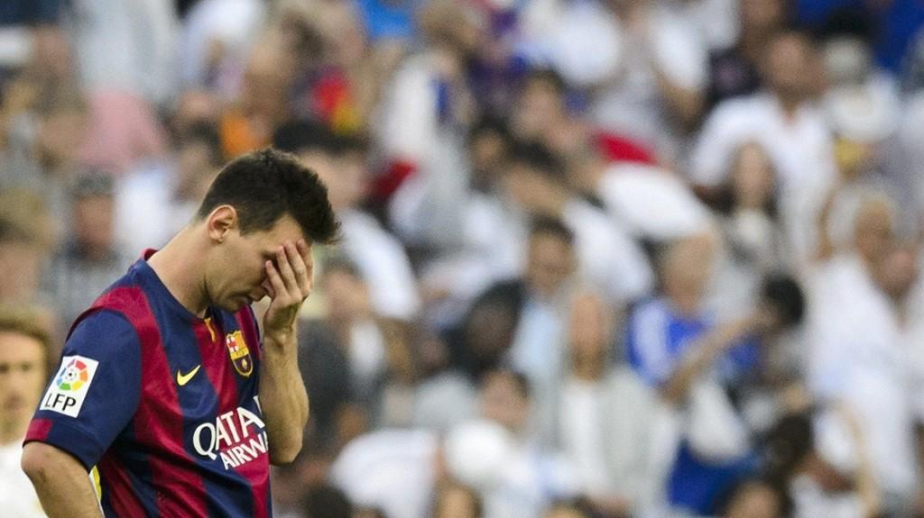 LUGGER: Barcelona er ikke i harmoni, her ved Lionel Messi.