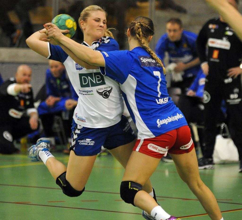 Lillann Eeg Kjærnsmo scoret åtte mål i Nordstrands seier over Skrim.