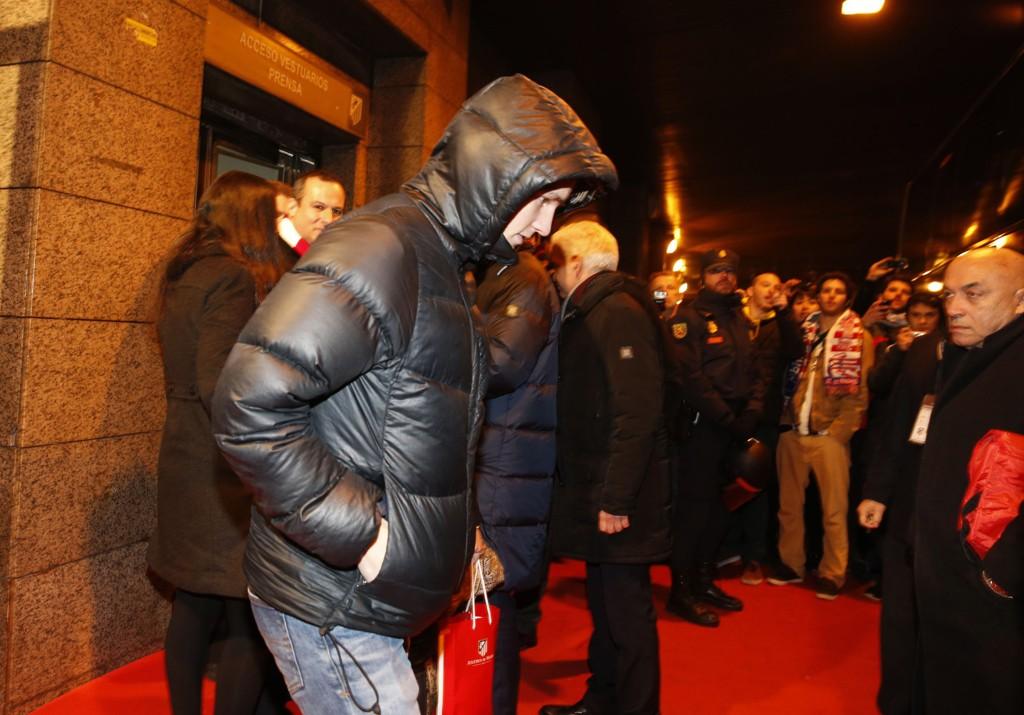 PÅ PLASS: Martin Ødegaard er i Madrid.