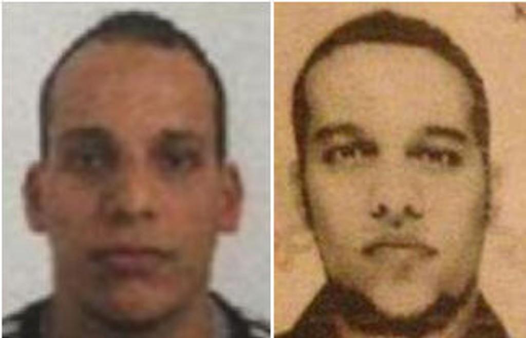 ETTERLYST: Brødrene Said og Cherif Kouachiom jages av store politistyrker i Frankrike.