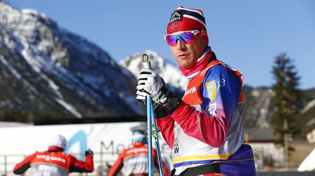 Niklas Dyrhaug har ambisjoner om å avansere under dagens 25 km jaktstart i Toblach.