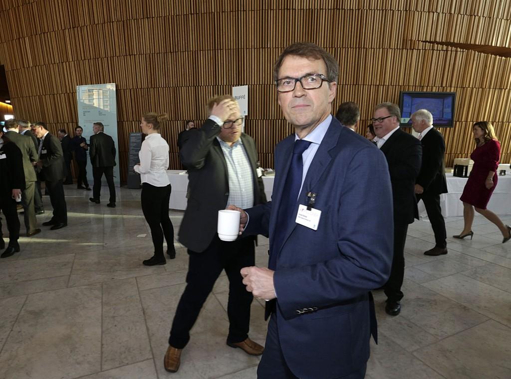 Oslo 20150108. NHOs årskonferanse 2015 Tidligere Hydros konsernsjef Eivind Reiten. Foto: Vidar Ruud / NTB scanpix