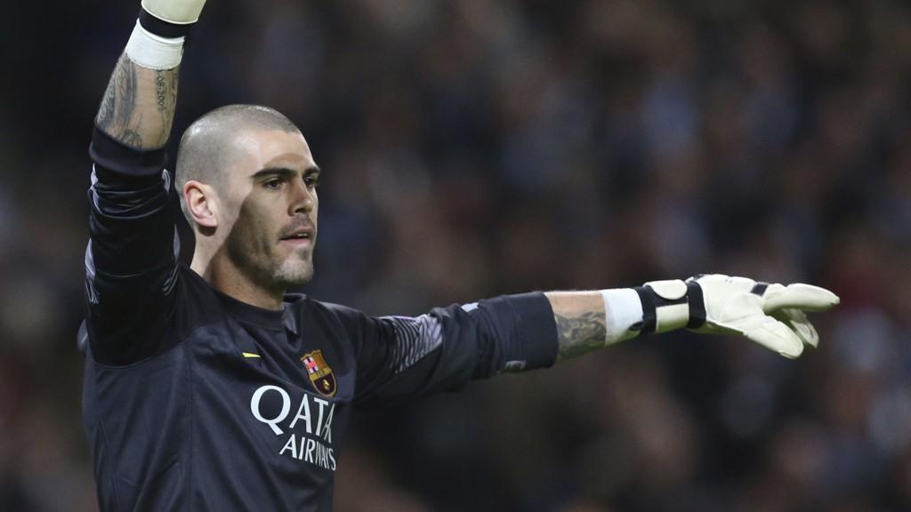 KLAR: Tidligere Barcelona-profil Victor Valdés har skrevet under for Manchester United.