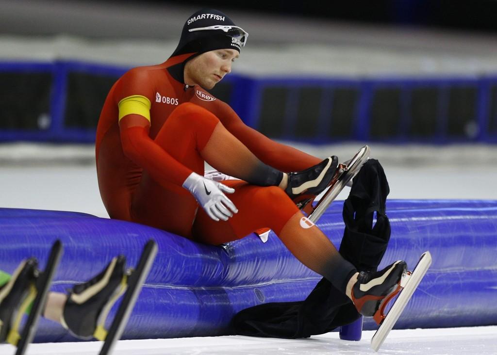 MEDALJEHÅP: Skøyteløper Sverre Lunde Pedersen.