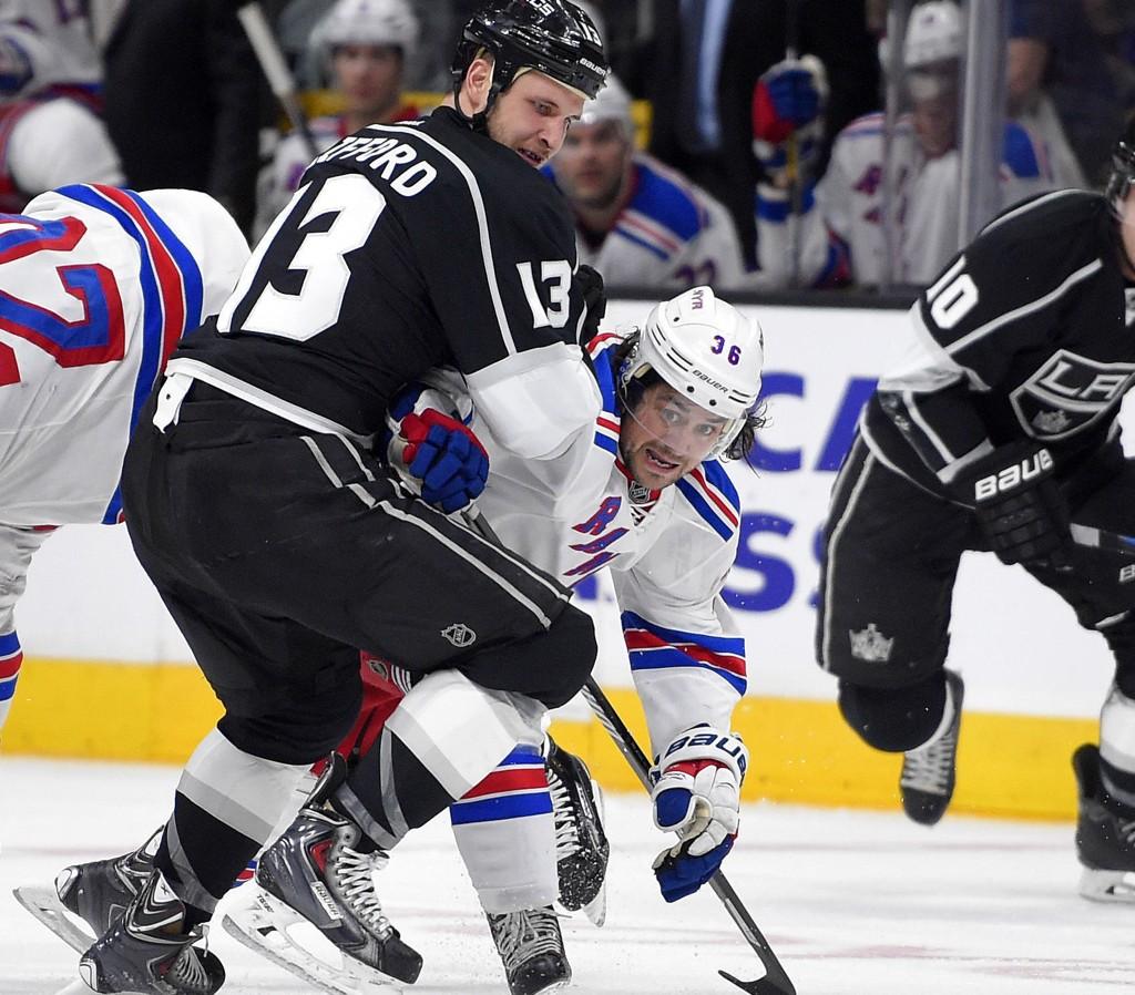NY SEIER: Mats Zuccarello Aasen og New York Rangers vant igjen.