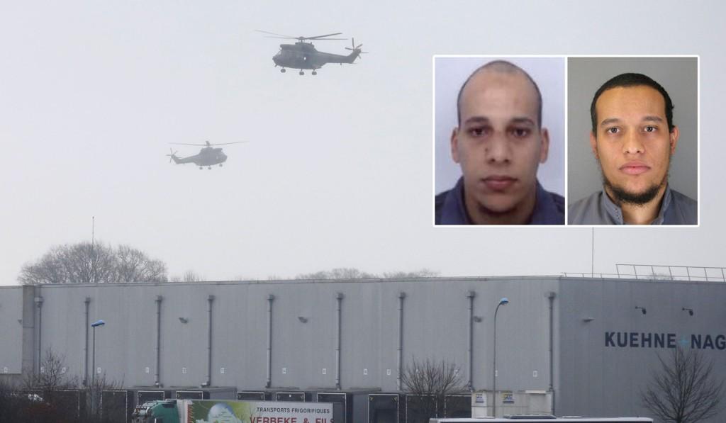 De terrormistenkte brødrene har tatt et gissel og skal ha sagt til fransk politi at de vil dø martyrdøden. Spesialstyrker omringer trykkeriet nordøst for Paris der de forskanser seg.