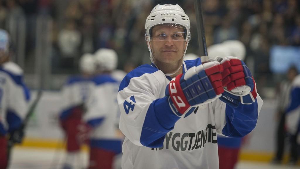 Patrick Thoresen scoret et av målene da SKA St. Petersburg slo Torpedo 5-2 i ishockeyserien KHL fredag.