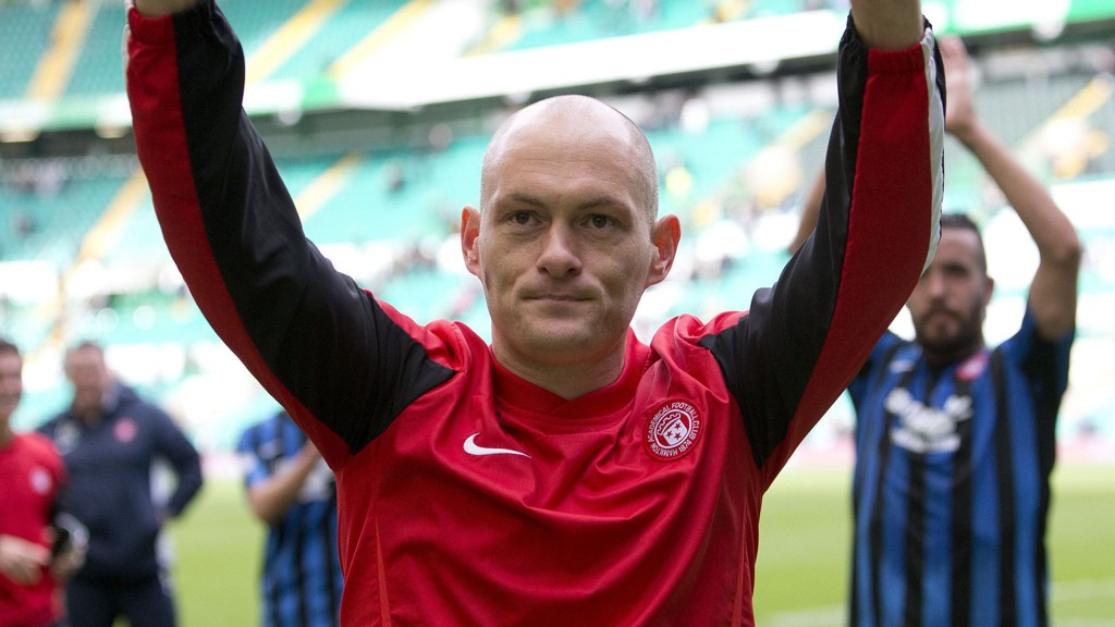 File photo dated 05/10/2014 of Hamilton manager Alex Neil.