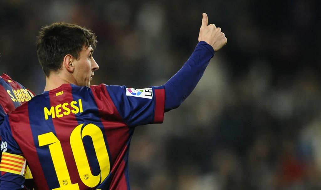 MANGE RYKTER: Lionel Messi er het om dagen.