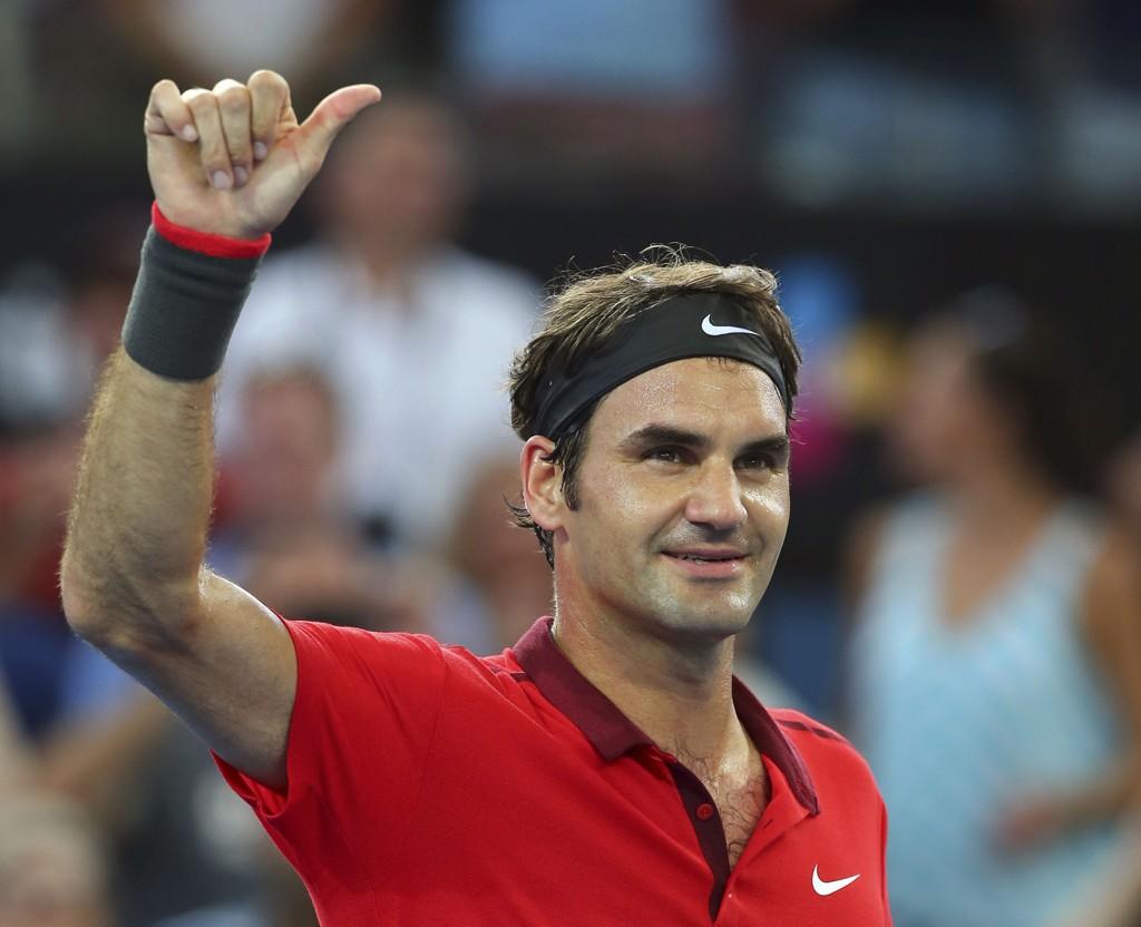 KLAR FO FINALE: Tennislegende Roger Federer.