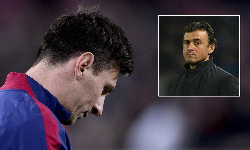 URO: Lionel Messi rapporteres å være misfornøyd med mye av det som skjer i Barcelona for tiden, blant annet skal han ikke være blant trener Luis Enriques største støttespillere.