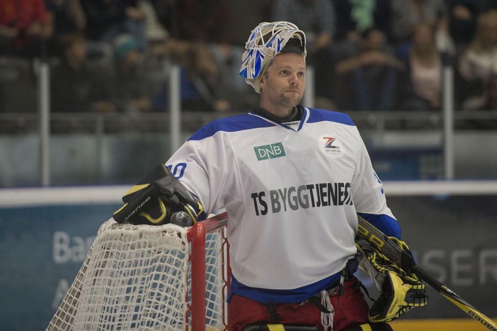 SOLID: Lars Haugen sto som en vegg da Dinamo Minsk møtte Sotsji og reddet 34 av 36 skudd.