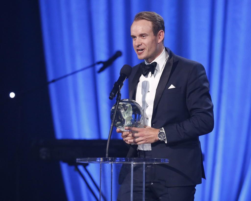 ÅRETS NAVN: Alexander Kristoff fikk prisen som årets navn under Idrettsgallaen.