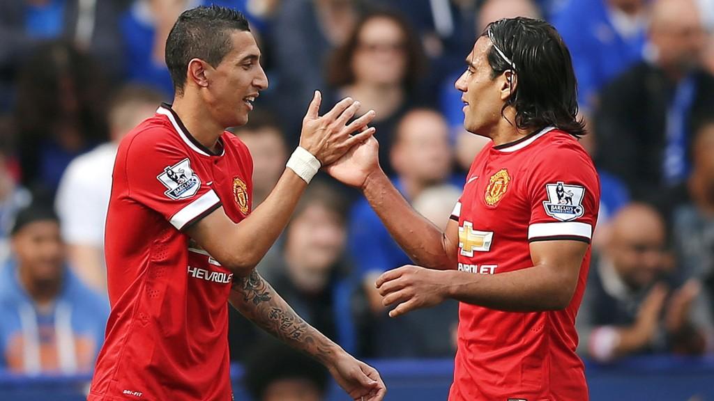 Stjerneduoen Angel Di Maria og Radamel Falcao er to av mange skadeforfulgte Manchester United-spillere som er tilbake for fullt.