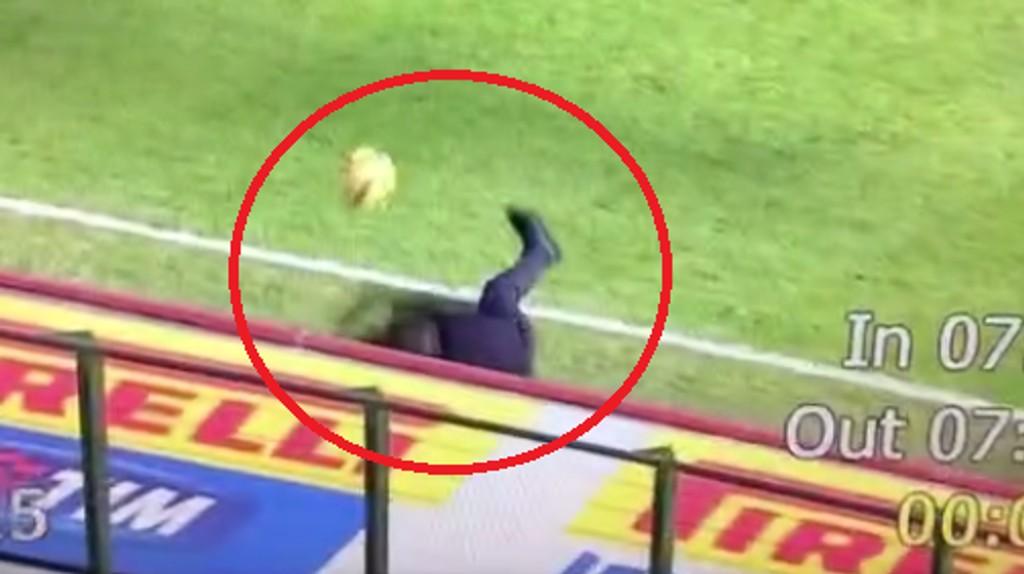 SKUTT I BAKKEN: Roberto Mancini ble skutt i bakken av