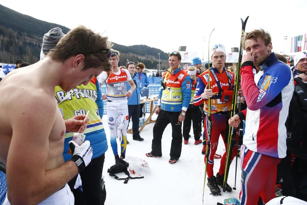 SVENSKESPØK: Petter Northug spøker med Calle Halfvarssons Tour-utspill.