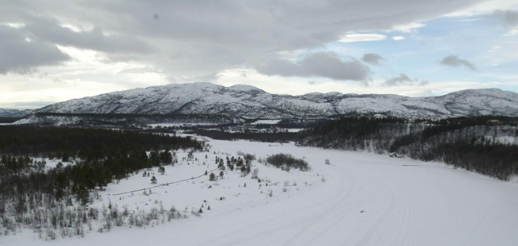 KALDT: Det er kaldt i Porsanger. Da passer det dårlig at strømmen går.