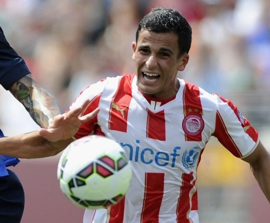 TABELLTOPP: Omar Elabdellaouis Olympiakos vant 3-1 borte mot Xanthi og overtok med det tabelltoppen i den greske superligaen.