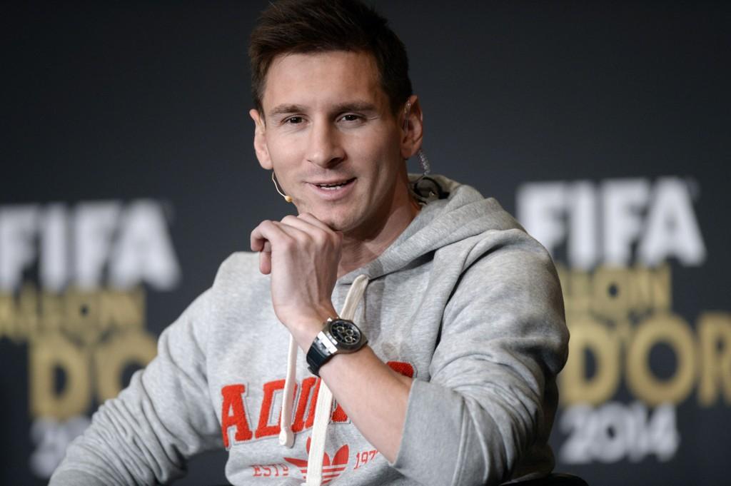 VET IKKE: Lionel Messi fortalte på den røde løperen i forkant av Gullballen-utdelingen at han ikke vet hvor han spiller neste sesong.