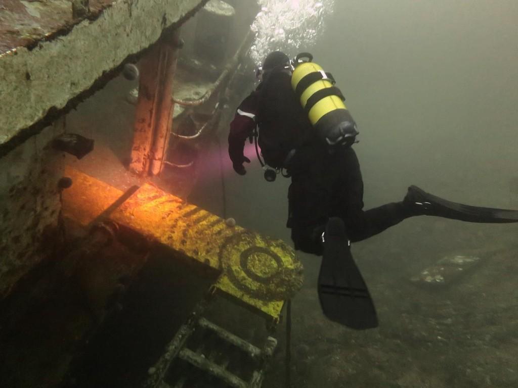 SEVERDIGHET: Deler av MS Server er i dag en severdighet for dykkere. Oslo tingrett mener at vraket ikke er til sjenanse for verken dyr eller mennesker. Retten mener heller ikke at vraket er skjemmende. Retten mener likevel at vraket må fjernes fordi det over tid kan utgjøre en miljøtrussel for naturen rundt vraket.