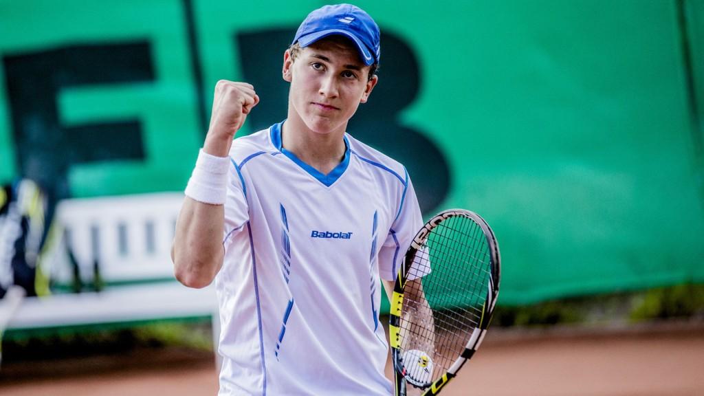 Viktor Durasovic og Casper Ruud (bildet) er to lovende norske tennistalenter som begge er ranket blant 50 beste av International Tennis Federation (ITF).