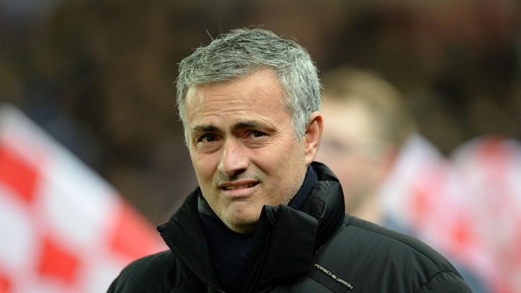José Mourinho har i kjent stil slengt med leppa. FOTO: NTB scanpix