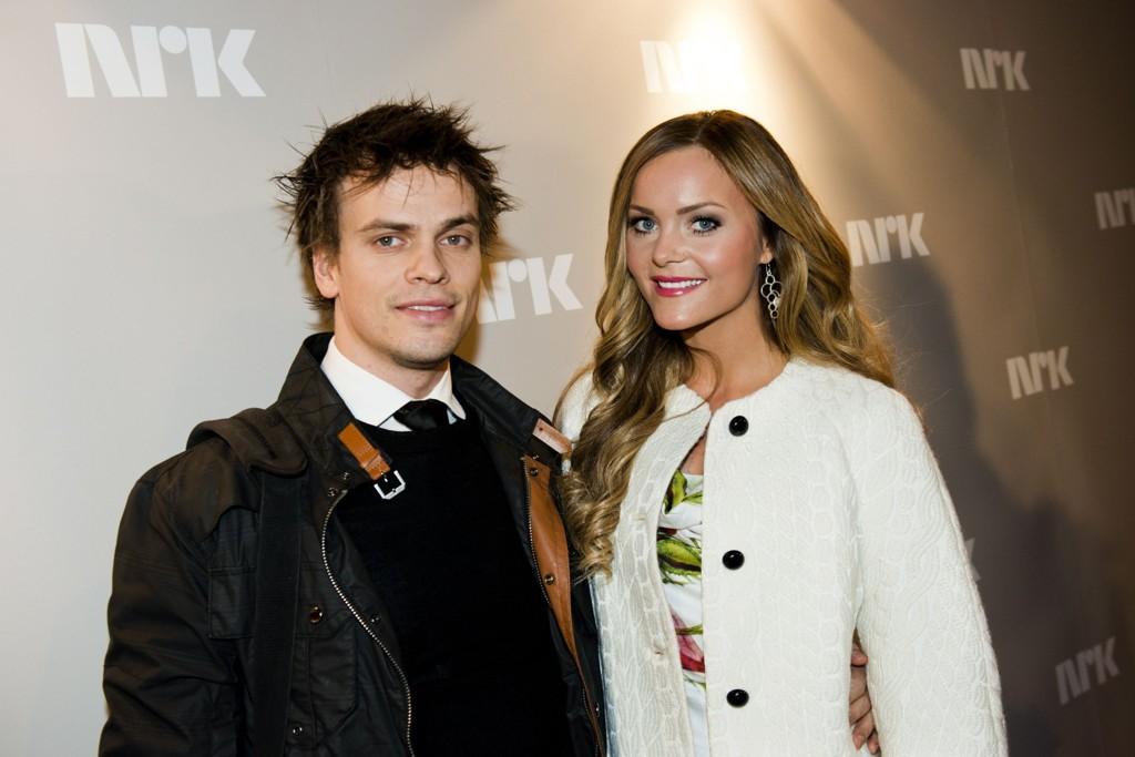 LESERMAGNET: Bloggen til Caroline Berg Eriksen er populært lesestoff. Her er rosabloggeren sammen med ektemannen Lars Kristian Eriksen.