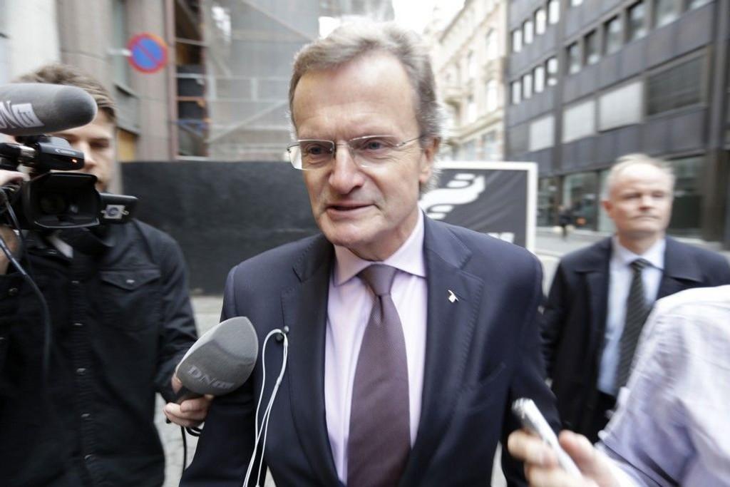 Telenorsjef Jon Baksaas var i midten av november i møte med næringsminister Monica Mæland. Nå skal de begge forklare seg for kontrollorganet.