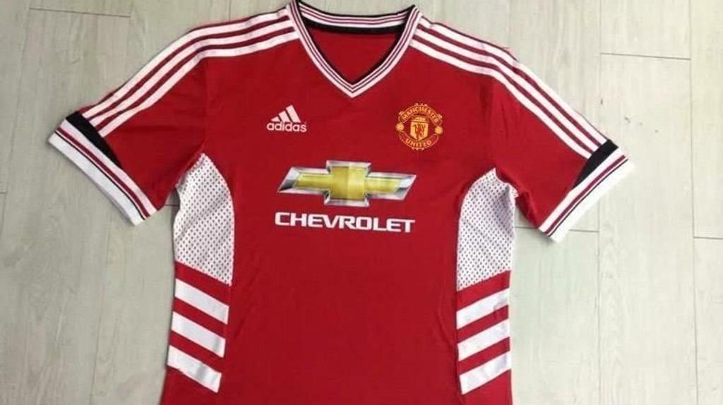 Er dette Uniteds nye hjemmedrakt? FOTO: Skjermdump fra Twitter / @aldrinjohn1996