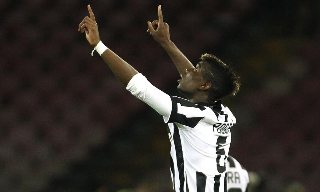 GLAD I UNITED: Juventus-stjerne Paul Pogba.