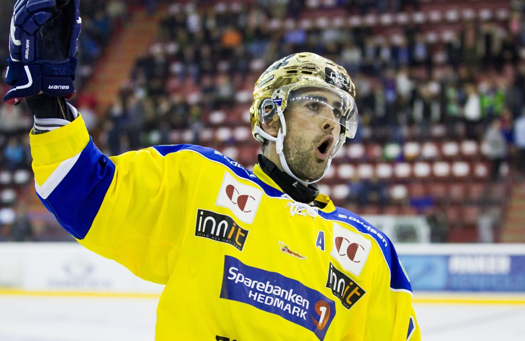 Christian Larrivée har vært en nøkkelspiller for Storhamar de siste årene og står med 47 poeng så langt denne sesongen.