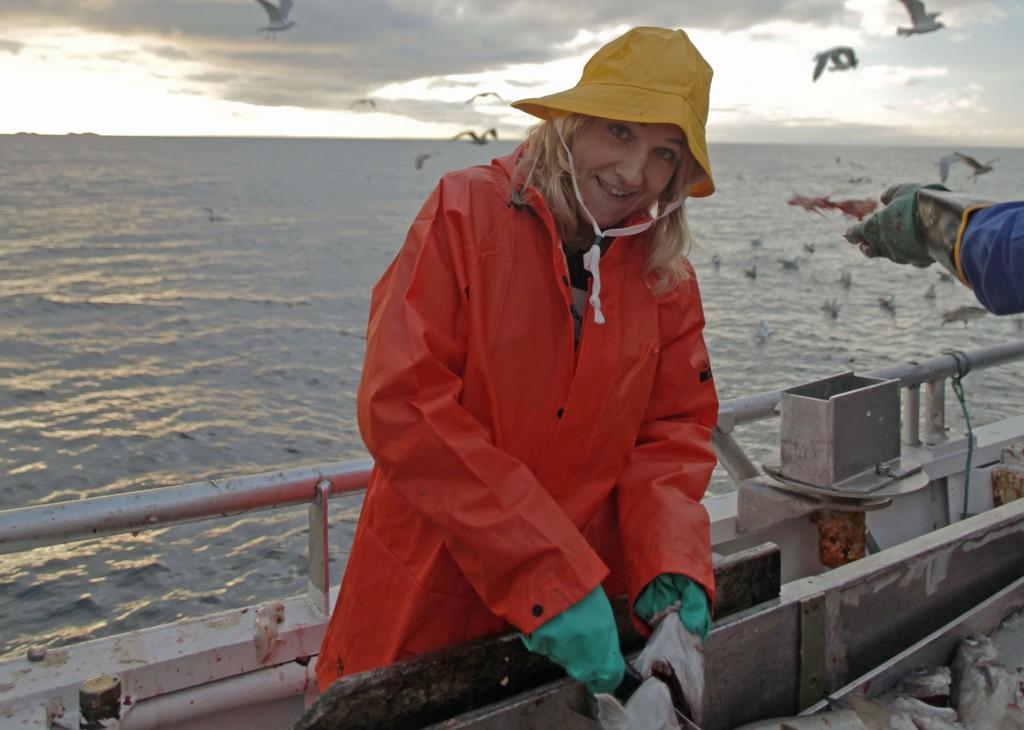 INGEN SEERSUKSESS: «Norsk på italiensk» med Guri Solberg falt i fisk.