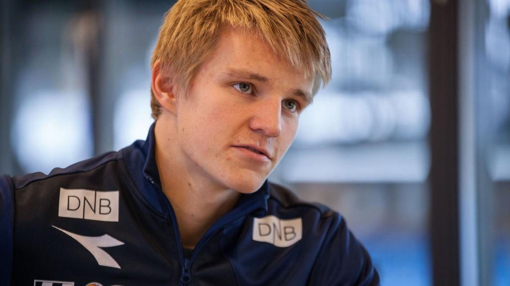 PÅ KRYKKER: Fotballprofil Martin Ødegaard.