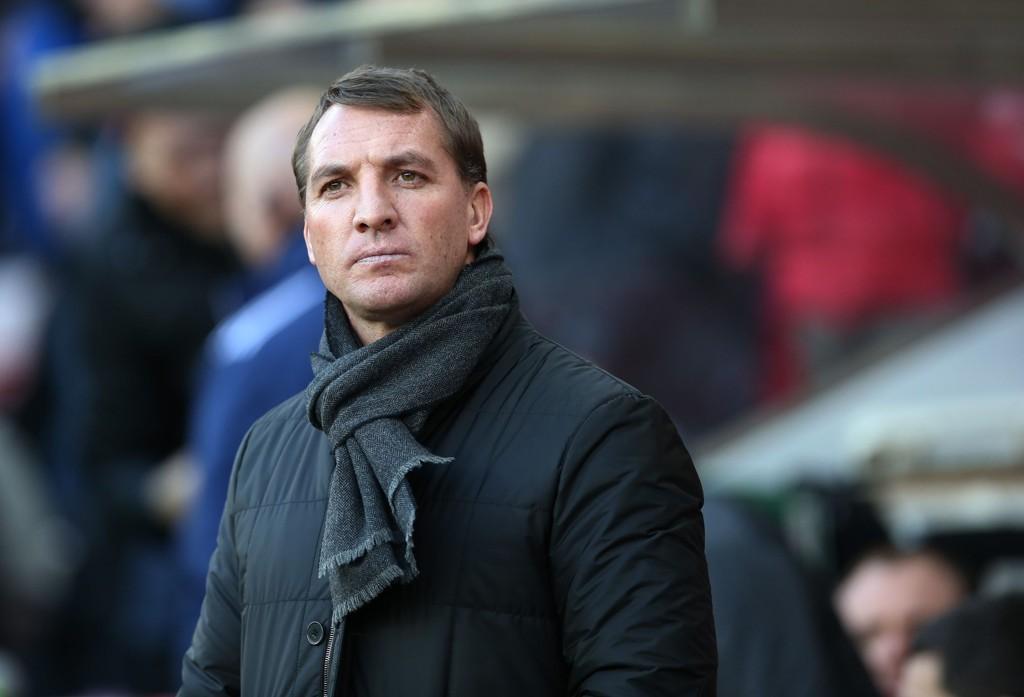 BALOTELLI-BESKJED: Brendan Rodgers sier at spissen blir værende i Liverpool.