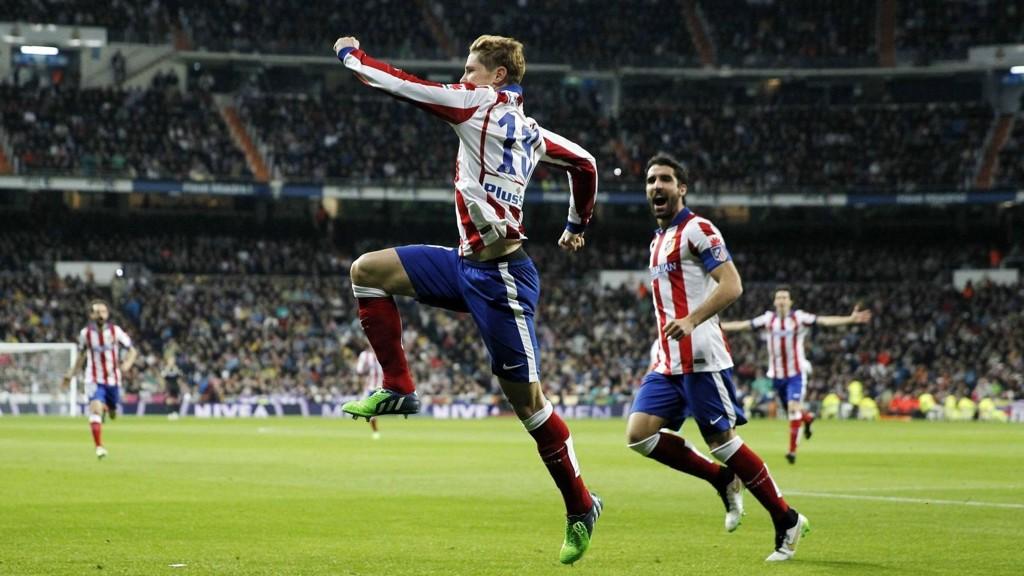 EL NINO TILBAKE: Fernando Torres vartet opp med to flotte scoringer mot Real Madrid.