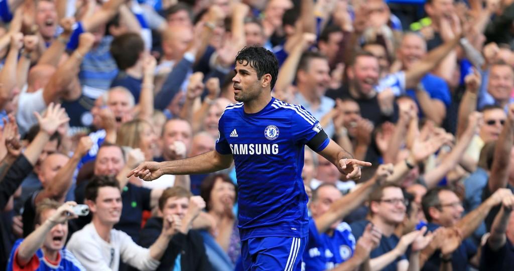 Diego Costa har levert varene for Chelsea.