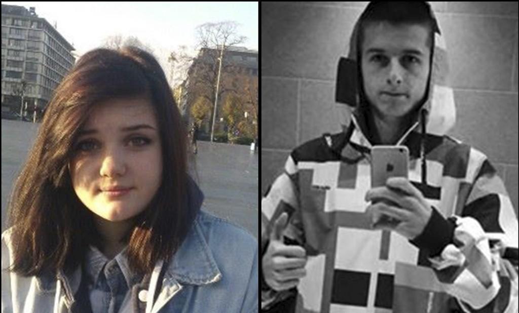 SAVNET: Julia Szczebra og Damian Dawid Rozgonski er meldt savnet av sine familier.