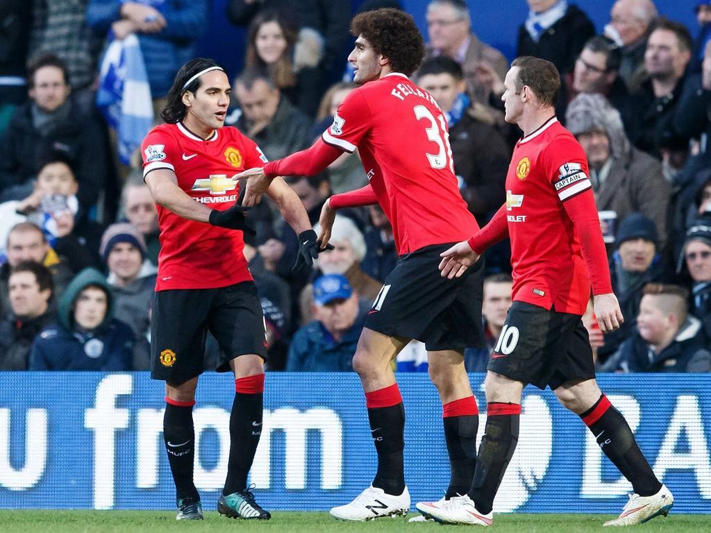 VIKTIG BIDRAG: Marouane Fellaini kom inn fra benken og scoret et av to Manchester United-mål mot QPR.