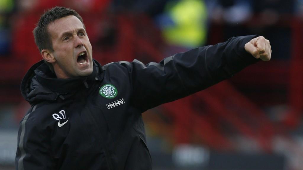 UTÅLMODIG: Celtic-manager Ronny Deila er lei av å vente på at svenske John Guidetti skal bestemme seg.