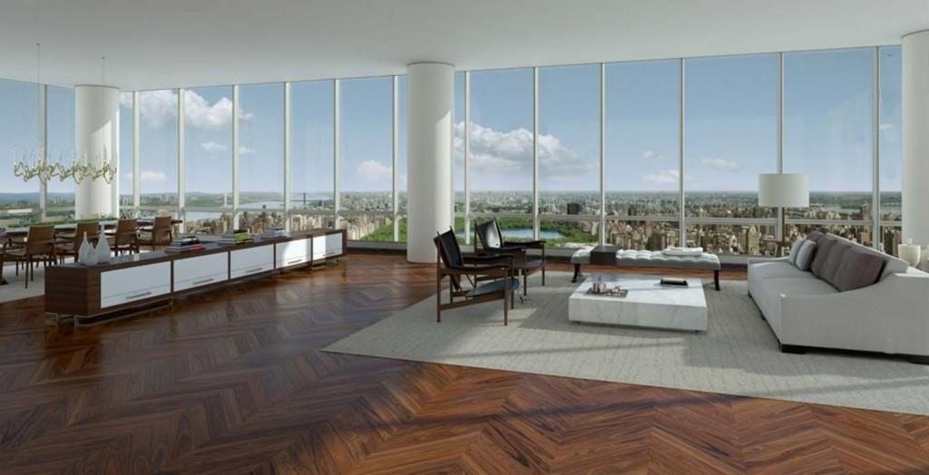 UTSIKT: 300 meter over bakken vil det ikke være gjenboere for eieren som snart kan flytte inn i denne leiligheten.