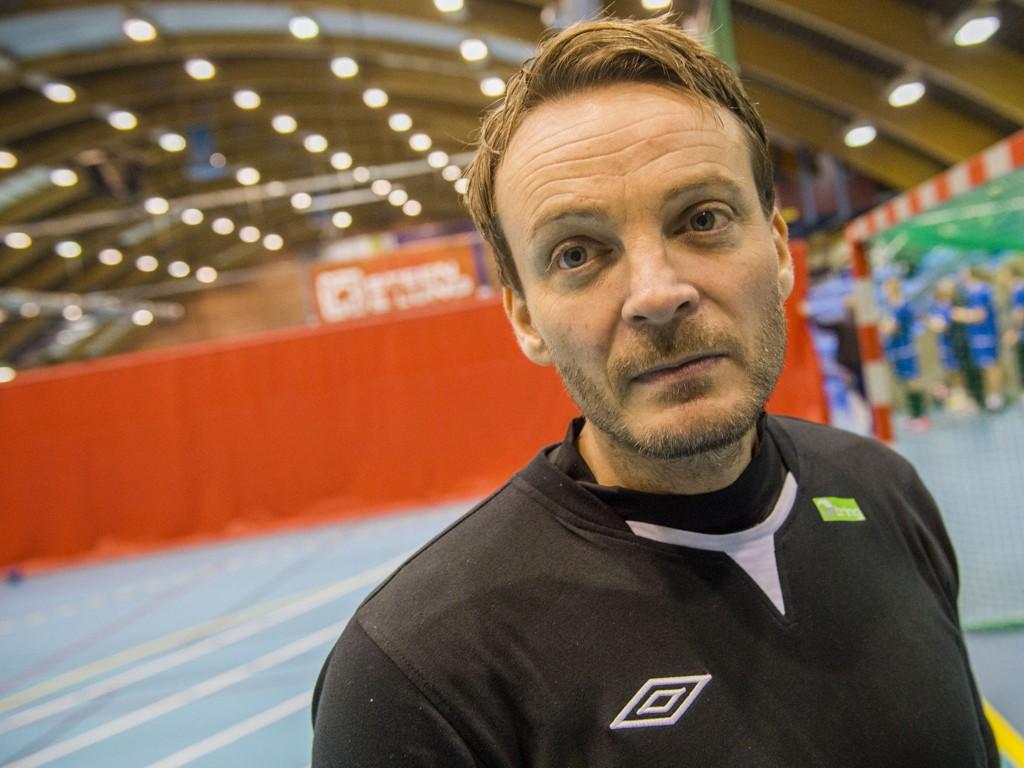 IKKE FORNØYD: Håndballherrenes trener mener Norge burde fått mer ut av søndagens kamp mot Serbia.