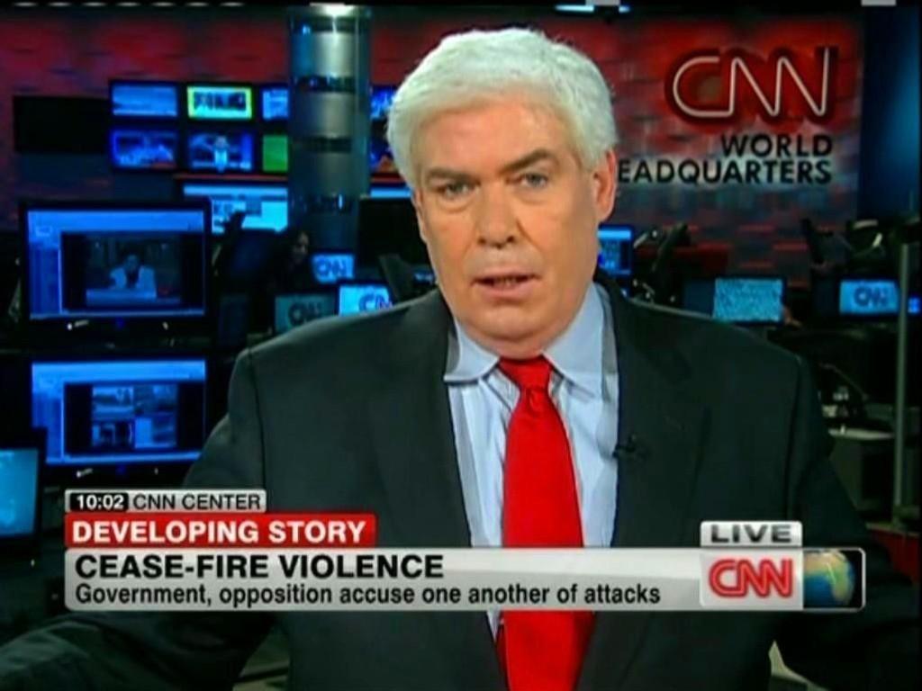 CNN-anker Jim Clancy sluttet på dagen i CNN etter Twitter-bråk.